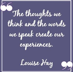 Thoughts we think and Words we speak quote